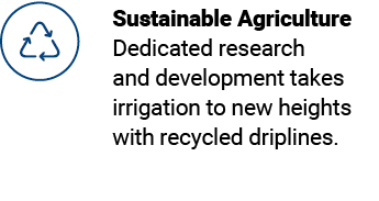 Sustainable Drip Irrigation for Row Crops